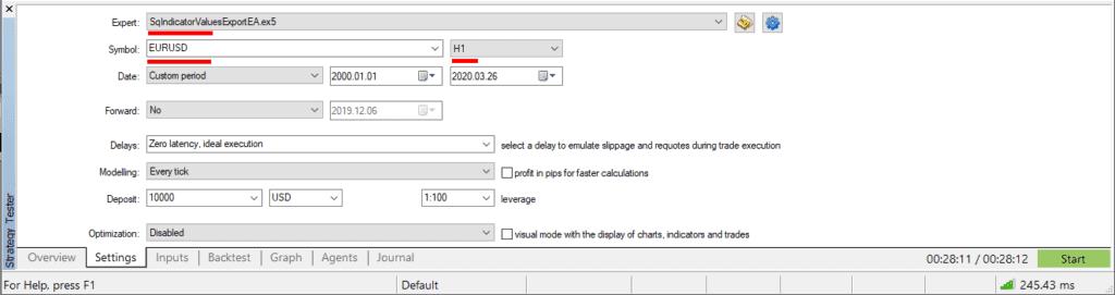 MT5 Indicator Export