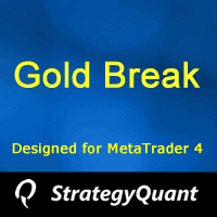 Free Strategy GOLD BREAK for XAUUSD M30 for MT4 platform